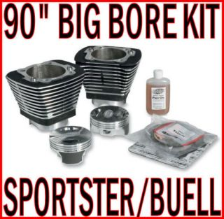 90 Big Bore Engine Motor Kit Harley Sportster Buell