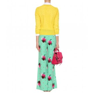 Marc Jacobs   PRINT PALAZZO TROUSERS   Luxury