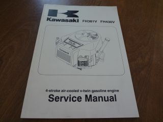 FH381V FH430V 4 Stroke Gas Engine Service Repair Manual