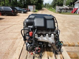 2004 CHEVROLET 6 0 LQ9 VORTEC ENGINE WITH COMPUTER AND WIRING LS1 LS2