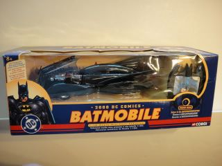 BRAND NEW Corgi Batmobile Diecast 2000 DC Comics 1:18 w/ Communicator