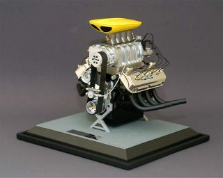 RARE Engine Model GMP 1 6 Chrysler Racing Engine Keith Black Diecast