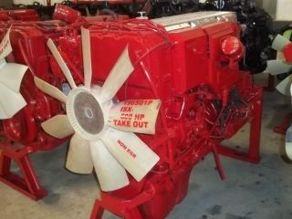 2001 Cummins ISX 600 H P Signature Engine w Turbo ECM New Head