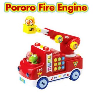 Pororo Melody Fire Engine Loopy Krong Little Doll New