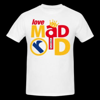 Love Madrid. Real Madrid. Spain. T Shirt 6283117