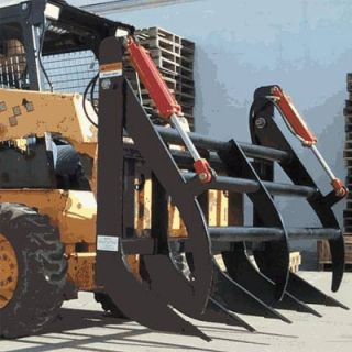 Farm Star Equipment Skid Steer Grapple Rake 62in