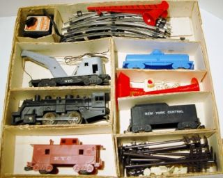 Roebuck Allstate Vintage O Gauge Train Set 9612 Box Engine 490 Works