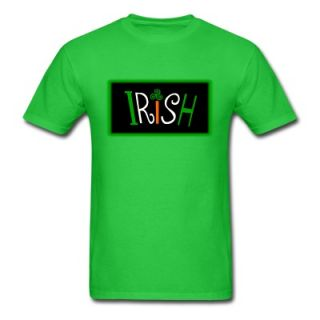 Funky Irish With Triskelion Celtic Symbol  DIGITAL DIRECT PRINT T