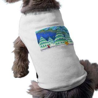 Weihnachtsbilder   Weihnachtsabend des Schnees Hundekleidung von